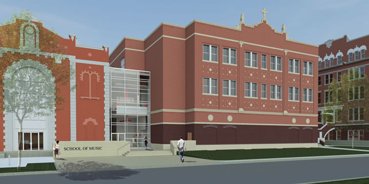 Construction is underway on UIW's new Fine Arts Center