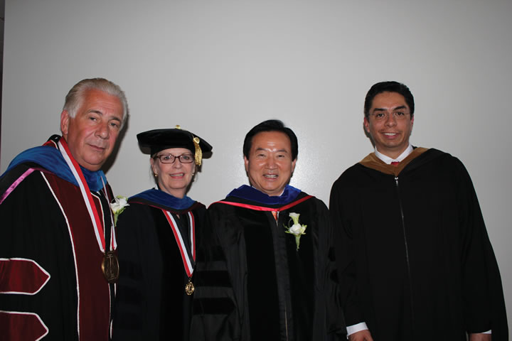 UIW Confers Honorary Doctor of Humane Letters Degree to South Korean Mayor Kang Un-tae