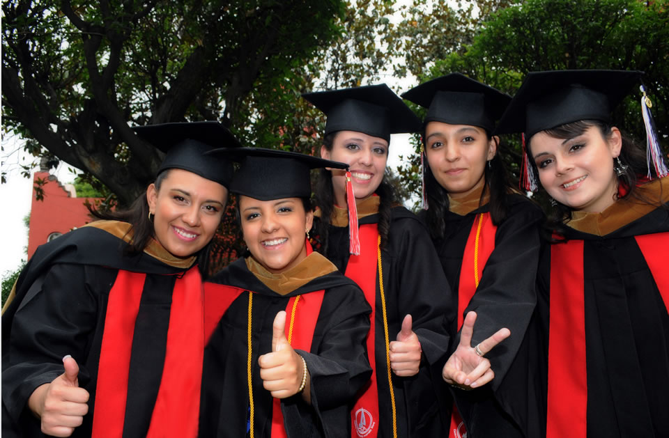 CIW graduates share a photo before  commencement held June 1, 2012.