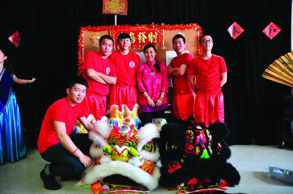 UIW's Lion Dance connects a community