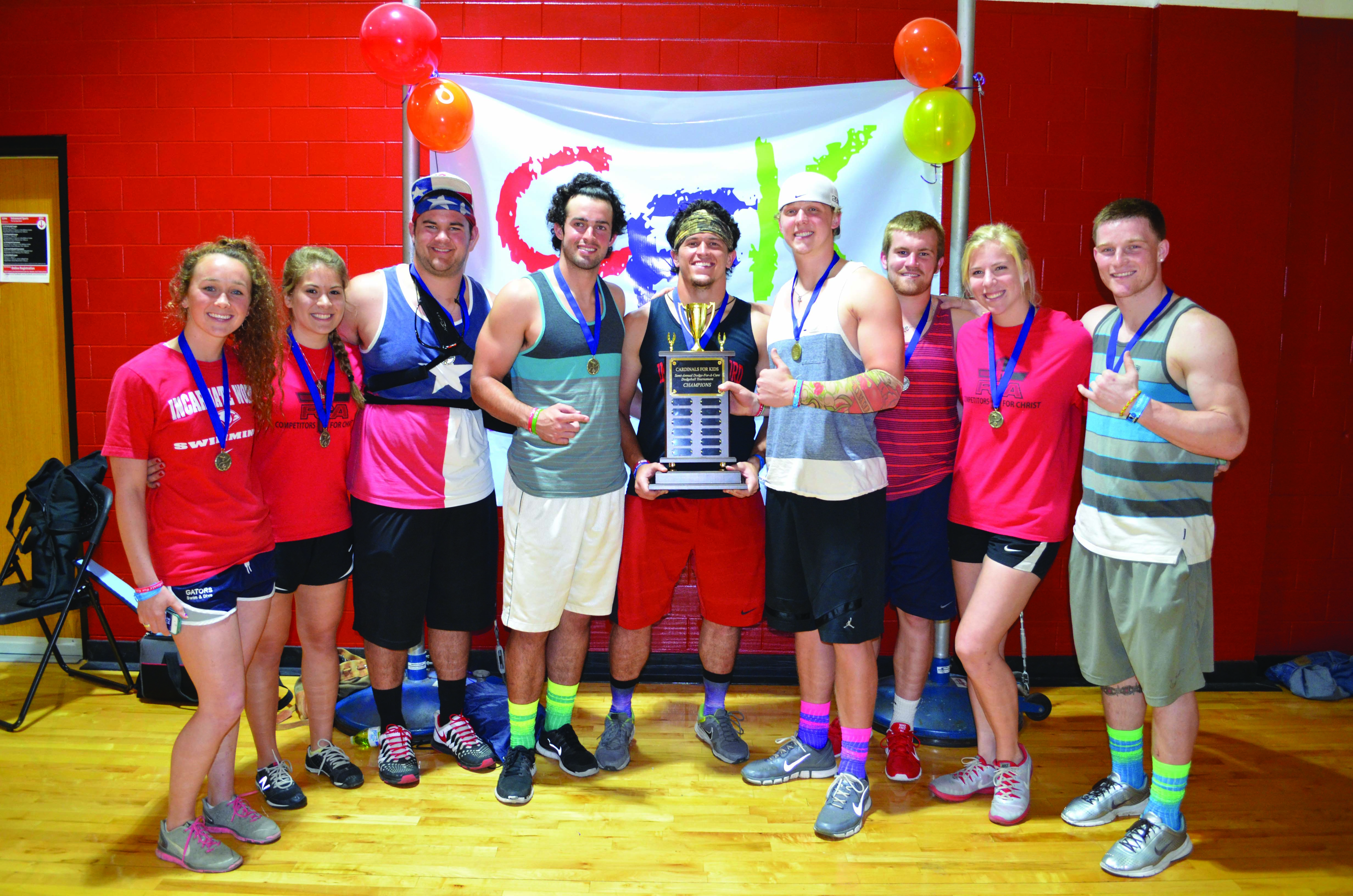 UIW Cardinals for Kids host Dodge for a Cure event