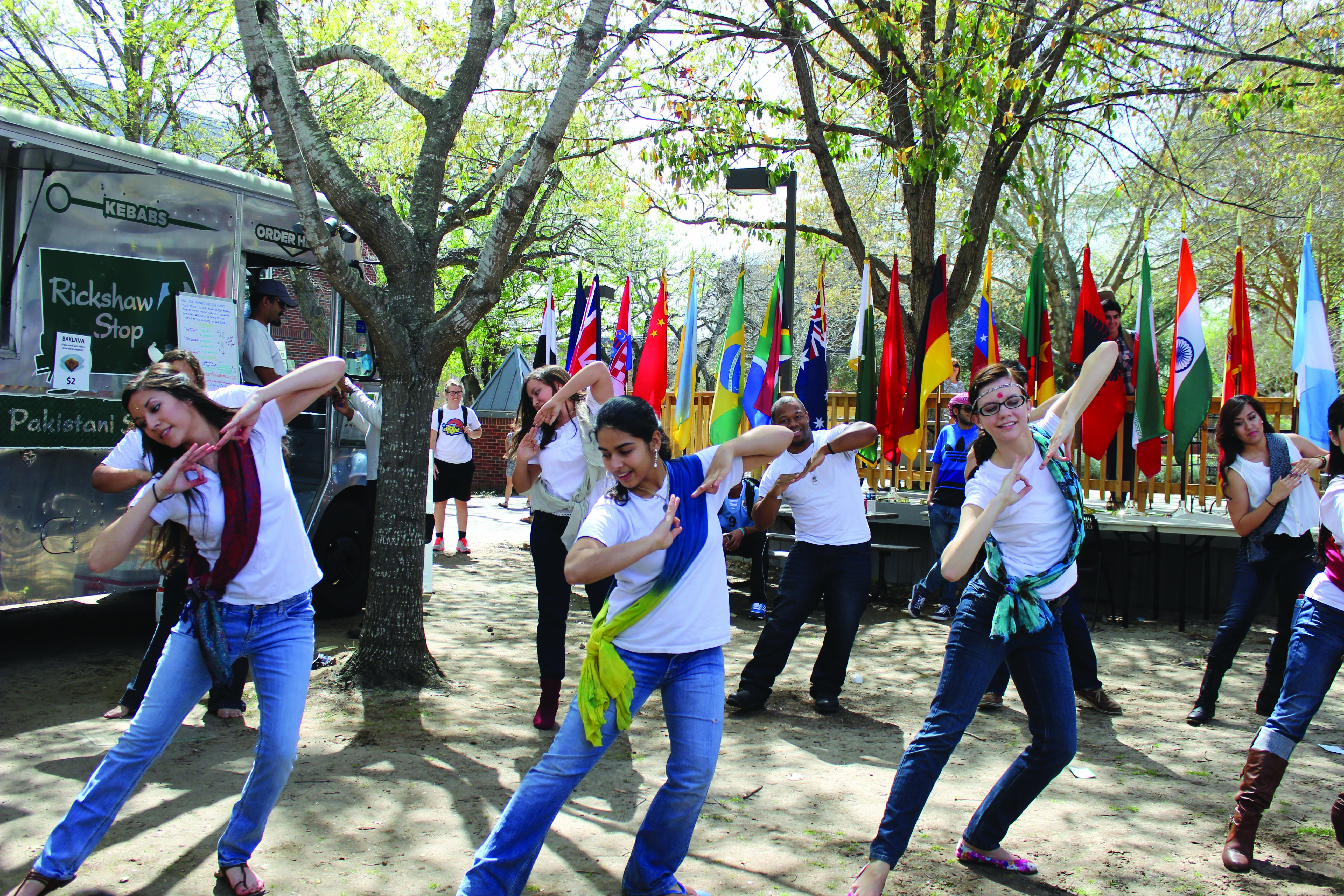 UIW celebrates spring with the International Festival of Colors