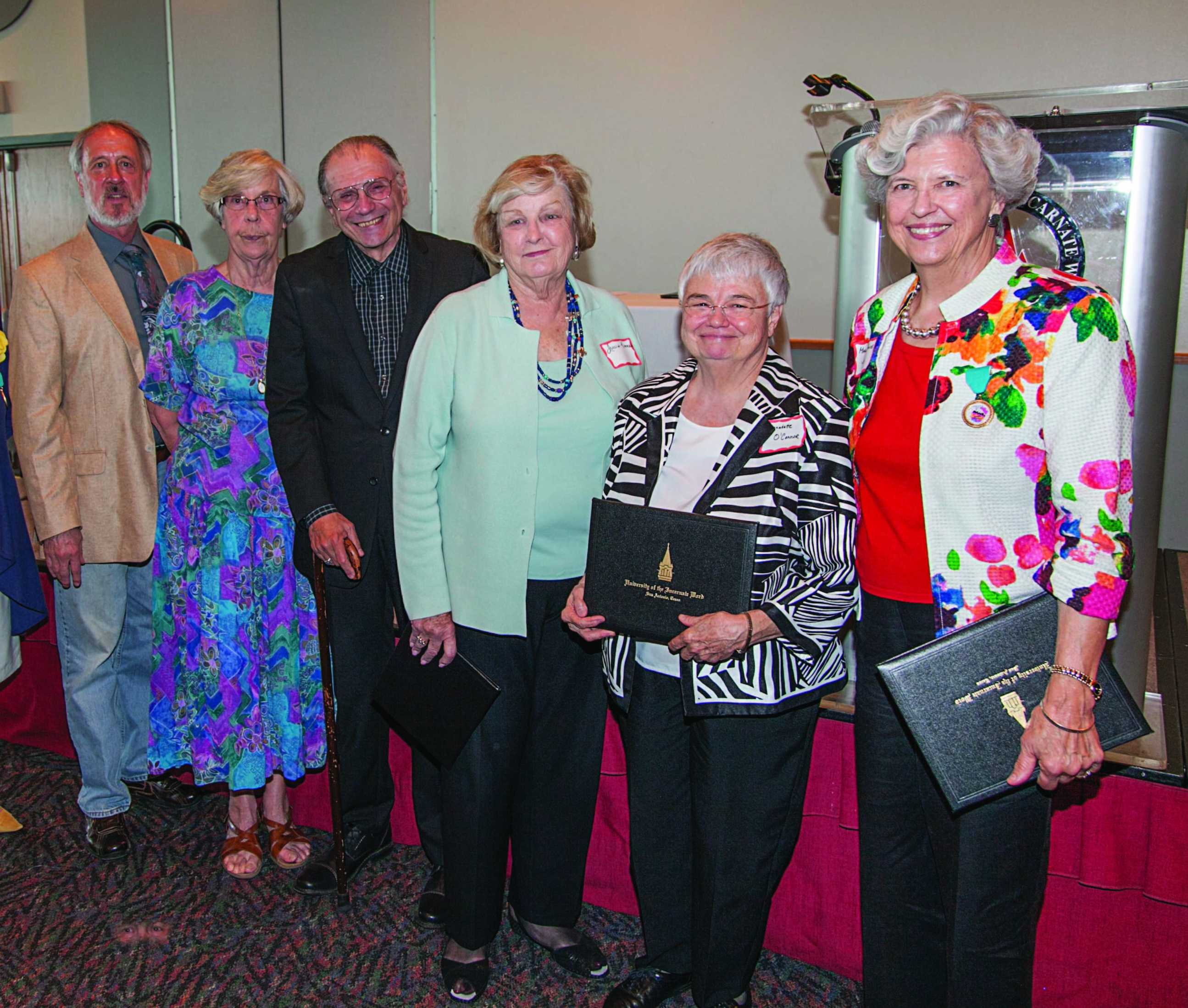 UIW bids farewell to retirees