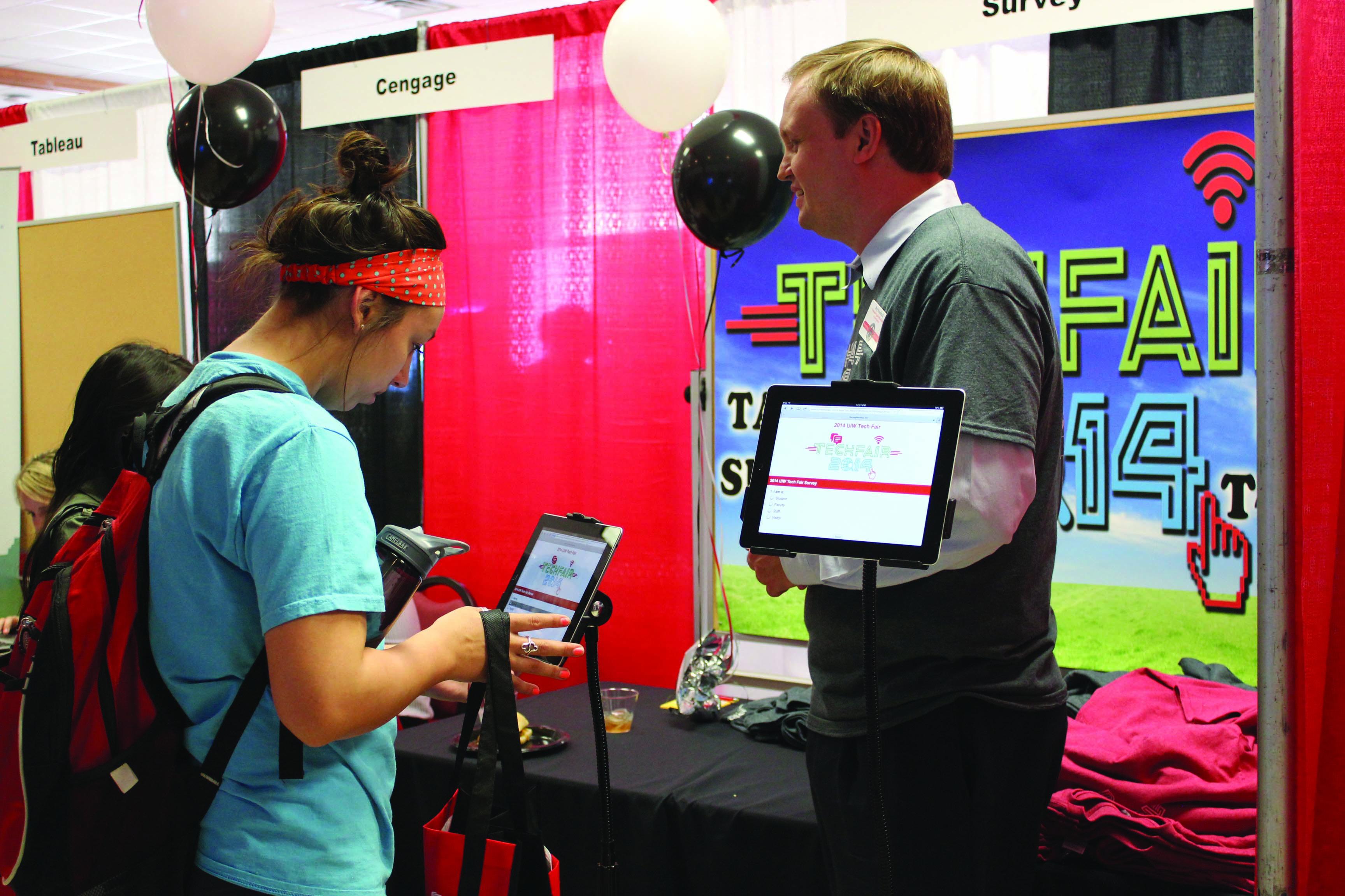 UIW hosts annual 2014 Tech Fair