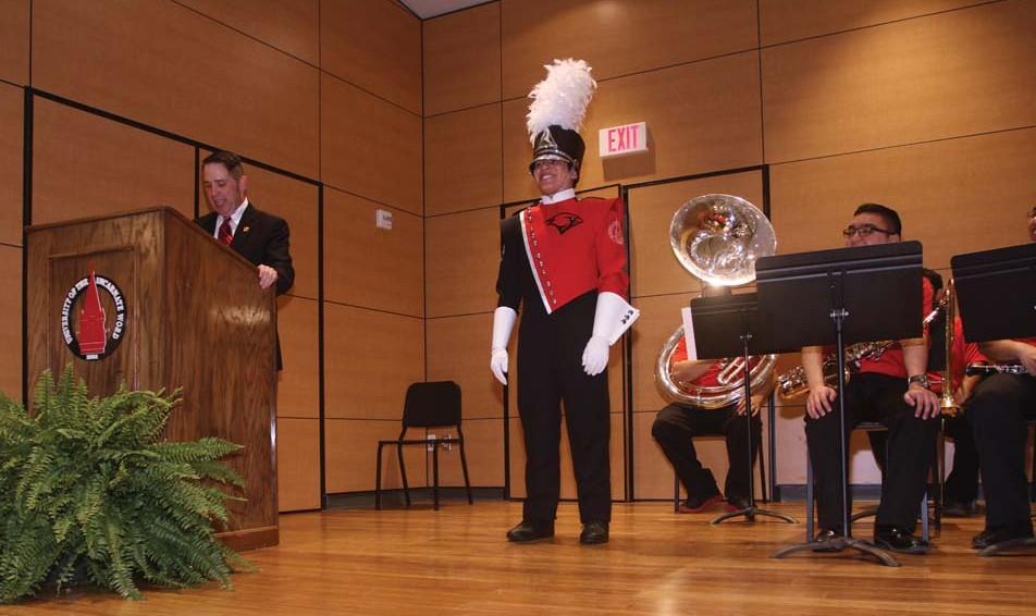 Marching Cardinals unveil new uniform