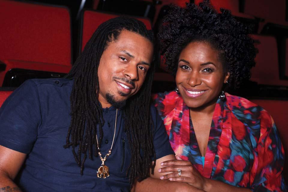 Alumni Ya'Ke Smith and Mikala Gibson.