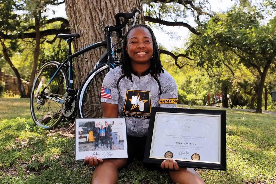 No Brakes: Cycling towards healing and success