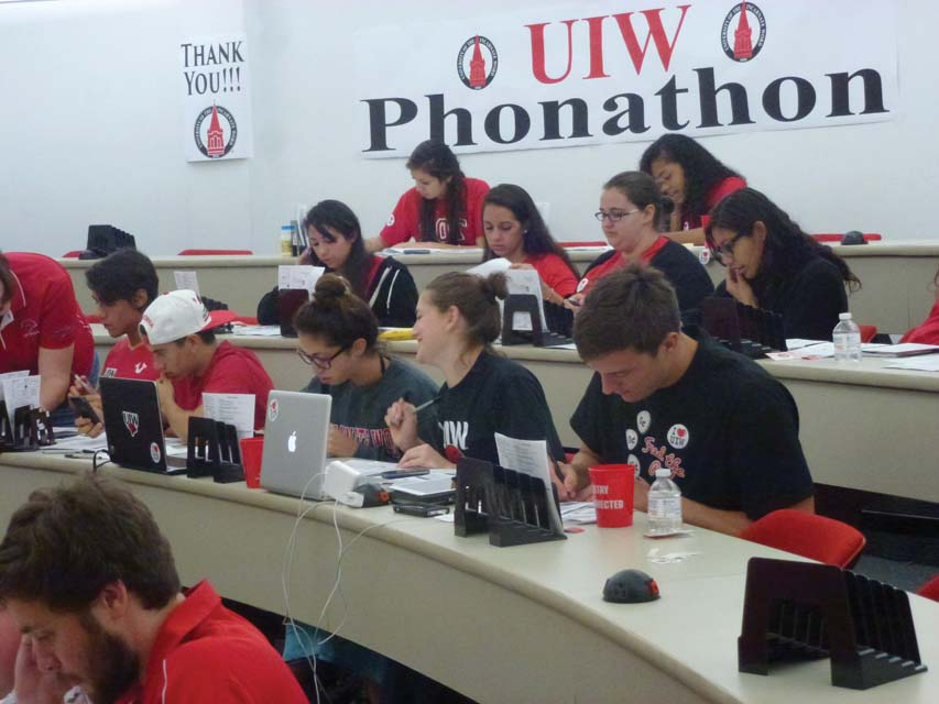 UIW Phonathon Fall 2015