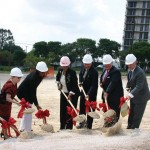 Feik School of Pharmacy Groundbreaking May 2006