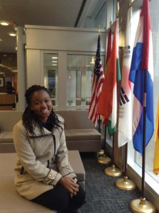 In the Nitze Building at the School of Advanced International Affairs in DC.