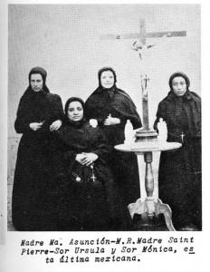 Cinquin and Sisters in Saltillo, Mexico.