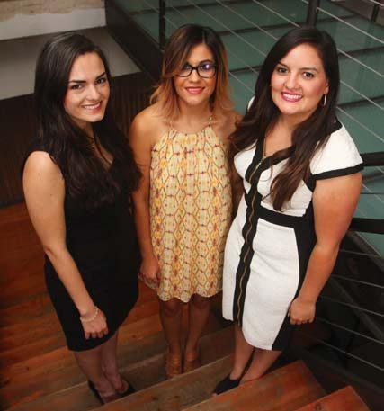 (Pictured L-R) Morales, Duran and Najera
