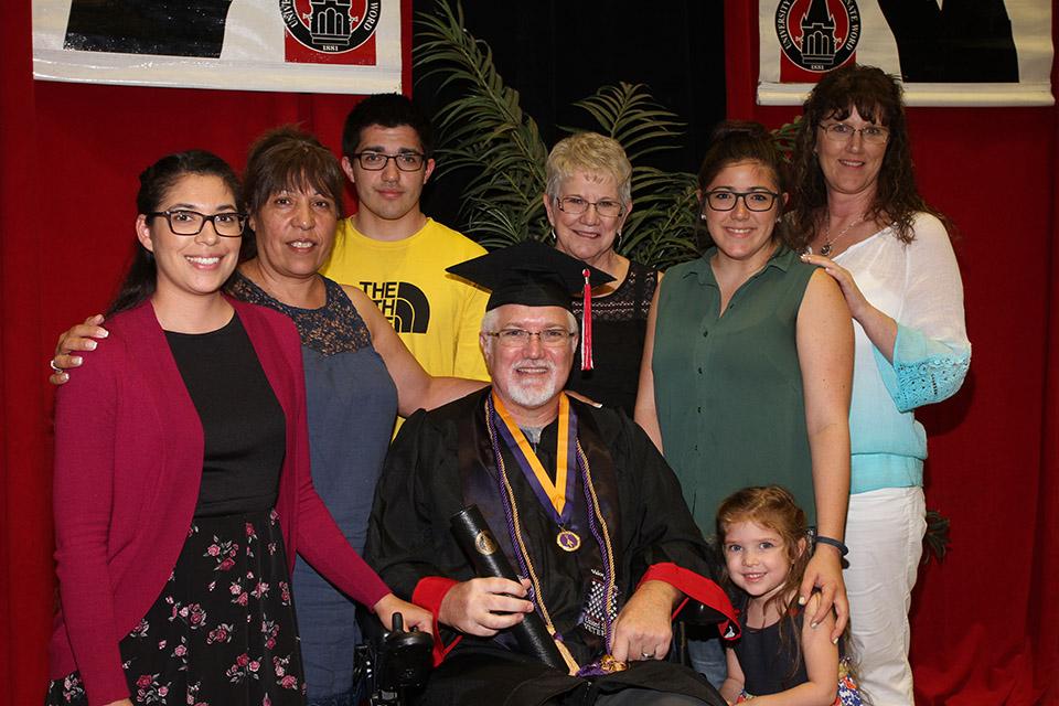 A Promise Fulfilled Veteran Troy Cornutt Graduates