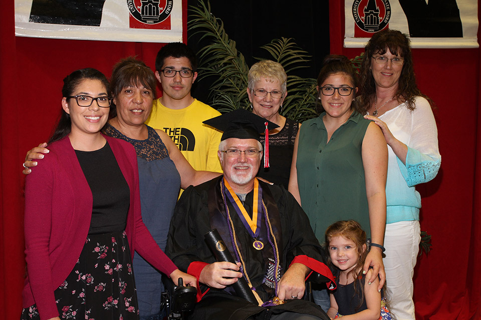 A Promise Fulfilled: Veteran Troy Cornutt Crosses the UIW Stage