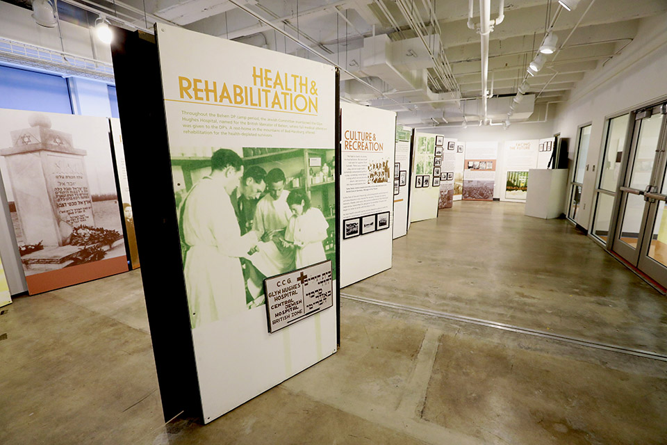 """Rebirth after the Holocaust"" Exhibit Explores Survival at Bergen-Belsen"