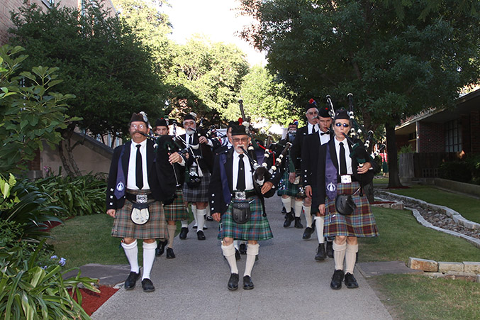 San Antonio Pipes and Drums: A Family Tradition
