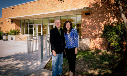 Irene and Dr. Eduardo Caballero Champion Tomorrow's Doctors
