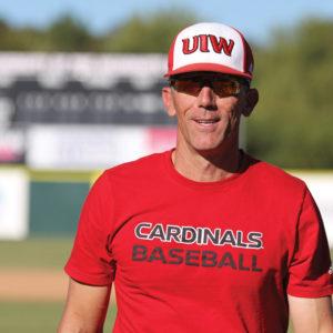 UIW Baseball Head Coach Patrick Hallmark