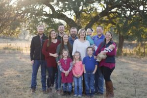 Monica Itz '81 BBA and her family