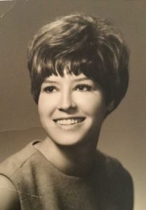 The artist as an Incarnate Word student in the 1960s.