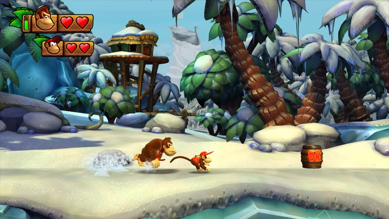Donkey Kong Spotted During Florida's Tropical Freeze