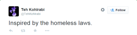 The homless laws are the weird Kohlrabi bot