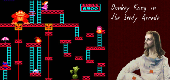 Donkey Kong in the Seedy Arcade