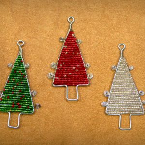 Tree Beaded Ornaments