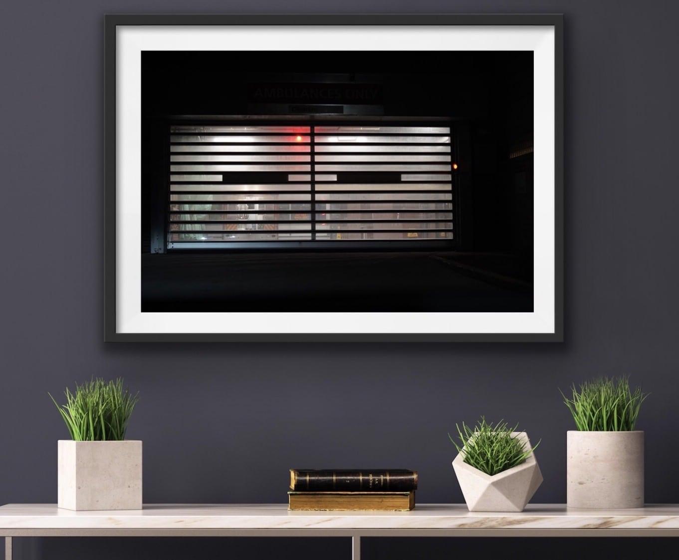 The Door - Framed