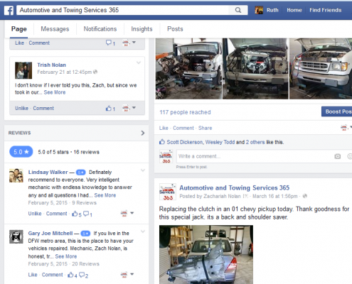 Automotive Services 365 on Facebook