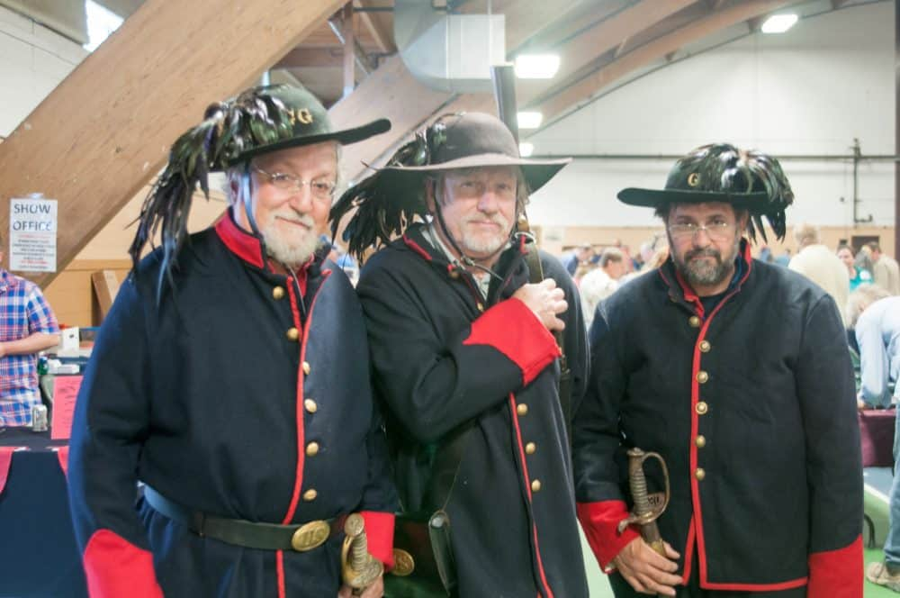 CHICAGO ILLINOIS CIVIL WAR, MILITARY, COLLECTOR ARMS, GUNS, KNIVES, AND SWORDS SHOW AND SALE