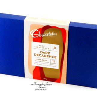 Large box of Chocolatiers chocolates
