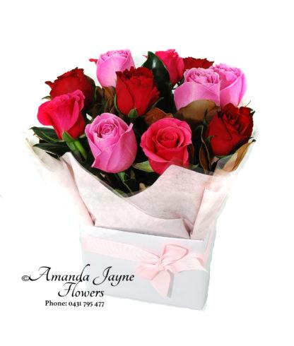 Rose box Noosaville flowers