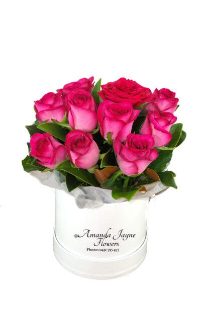 Flowering Rose Hat Box