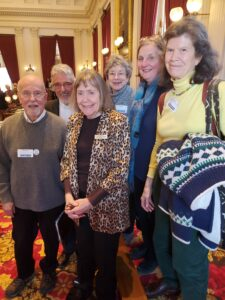 A few of us met with Jean O'Sullivan, our Representative from the New North End of Burlington