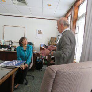 Meeting with House Speaker Mitzi Johnson