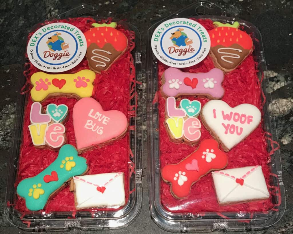 gluten free dog treats for valentines day