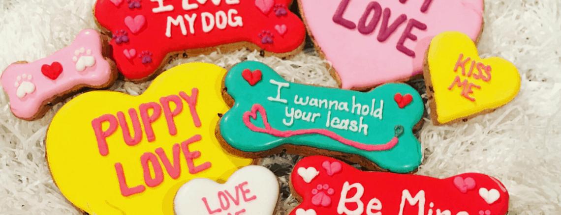gluten free organic dog treats for valentines day