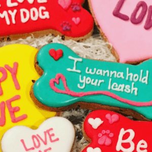 gluten free organic dog treats for valentines day