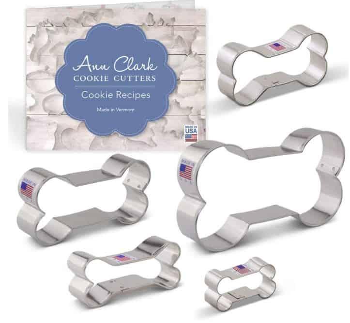 dog biscuit cookie cutters dog bone shape ann clark cookie cutters made in america.