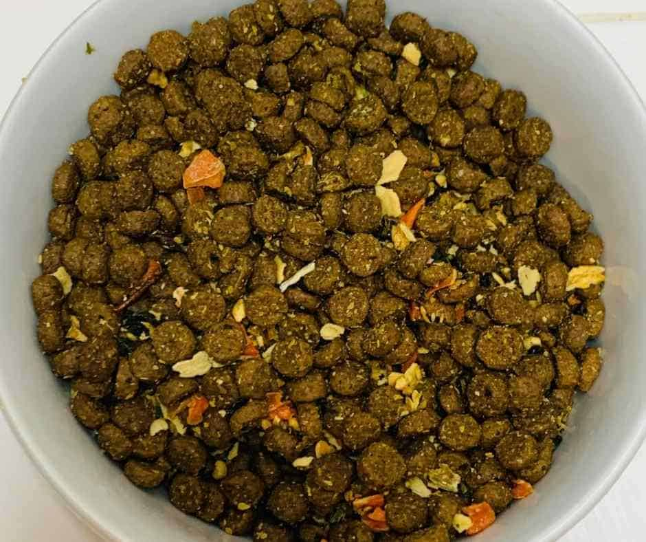 Texas Pet Food Company texas-made kibble with meat and human-grade quality plus mix ins