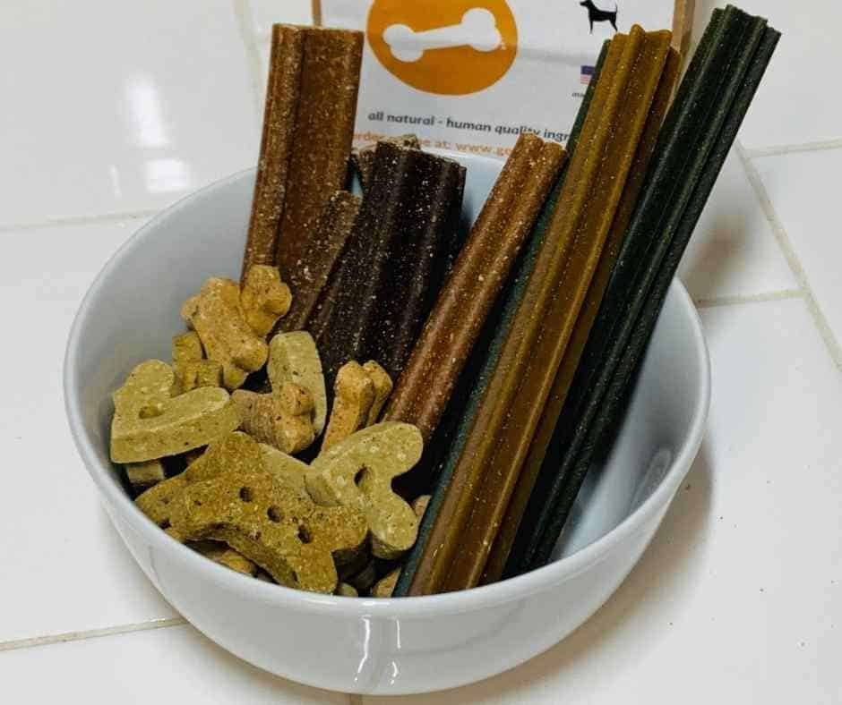 dog treats fresh made grain free chews and biscuits from Go Fetch Texas Pet Food Company
