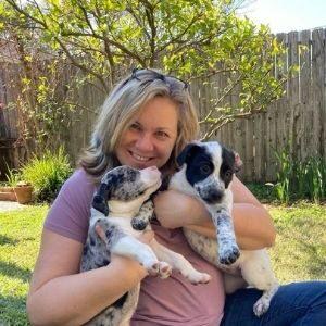 about Houston dog mom