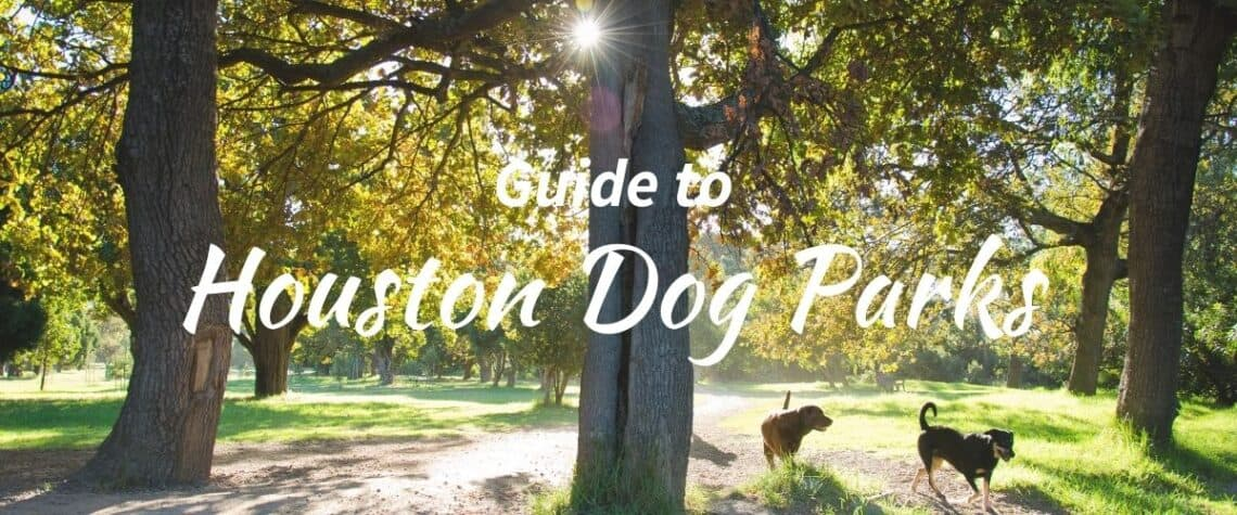 list of dog parks in houston