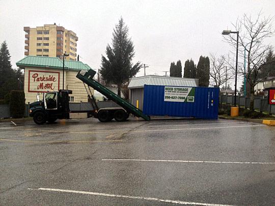 Container Storage Rental