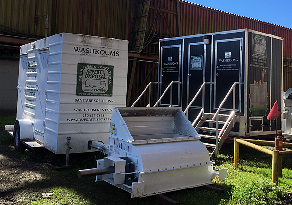 Portable Washroom Rental Terrace