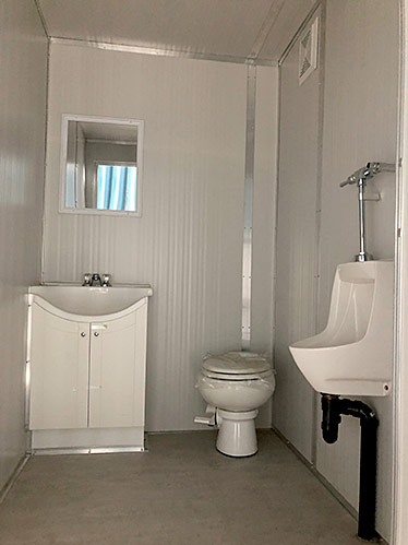 Washroom Trailer Rental