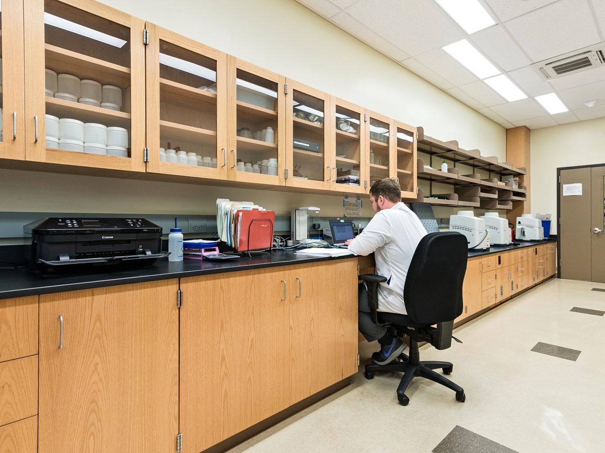 DNA Sample Prep Room
