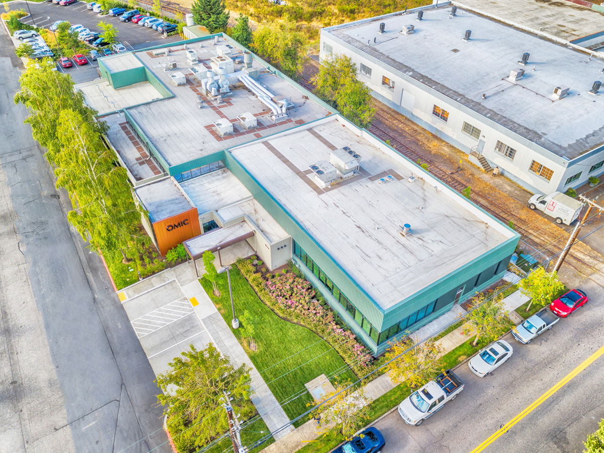 Aerial View of OMIC USA Facility