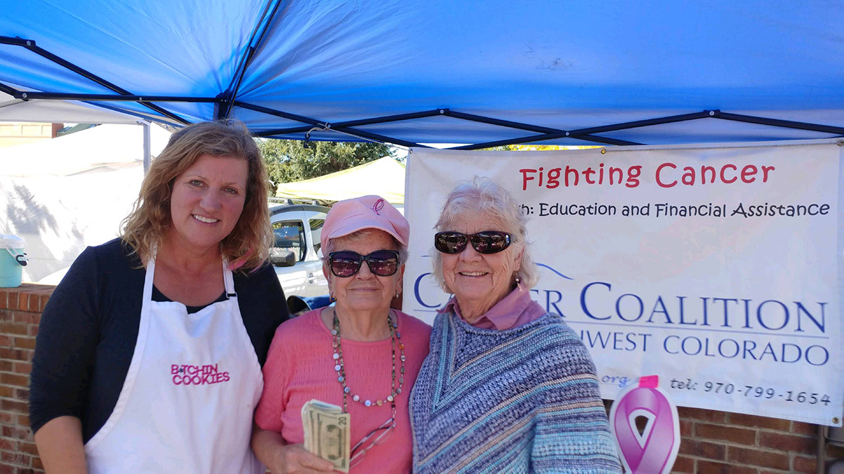Volunteers at CCSWC fundraising event